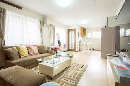 90㎡ Large apartment / 2 Parking Lots / Pocket-Wifi - Sapporo-shi - Wohnung