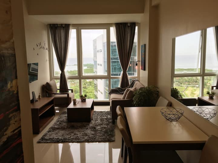 A lifestyle resort living 1-bedroom with balcony