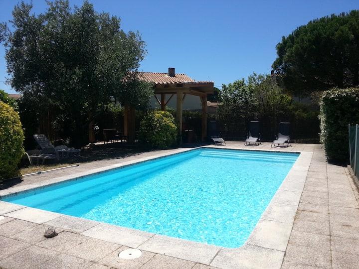 Villa piscine privative au coeur de Carcassonne