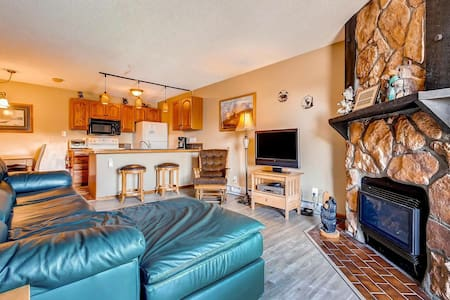 Charming Ski Inn 126 1 Bedroom Ski In -out Condo in Steamboat - Osakehuoneisto