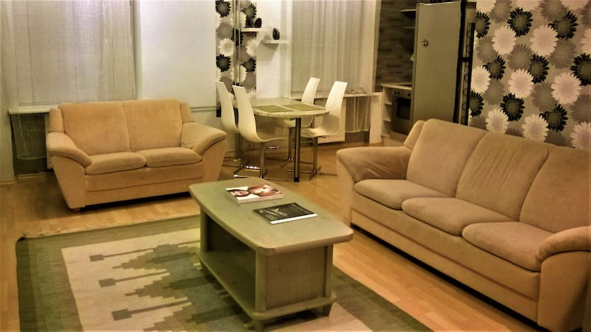 Nice Central 61m Apartment - Tallinn - Apartament