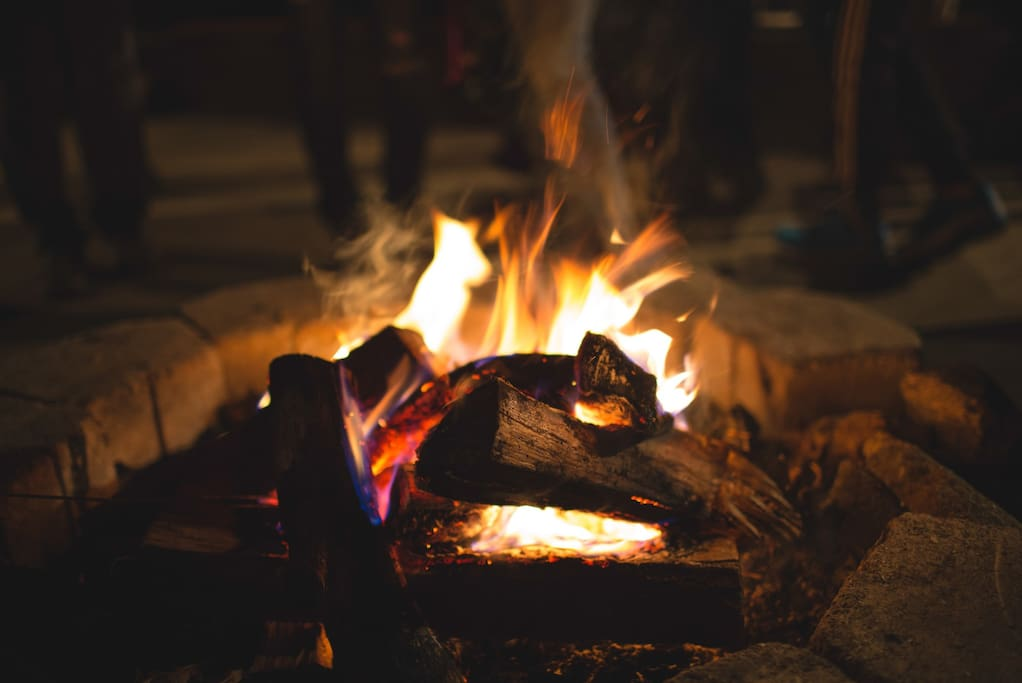 Gather your loved ones around a bonfire for a night of stories