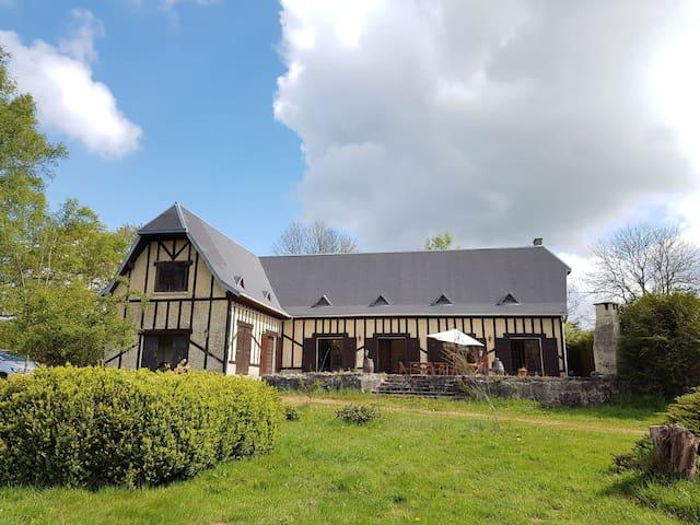 Maison de Normandie 10p - Échauffour - 獨棟