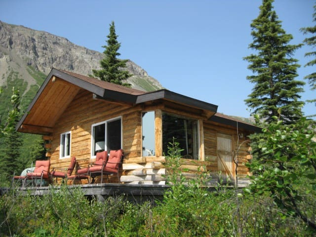 Authentic Alaskan Cabin, scenic location, private.