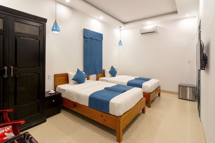 Twin Room - An Bang Scent Beach Homestay
