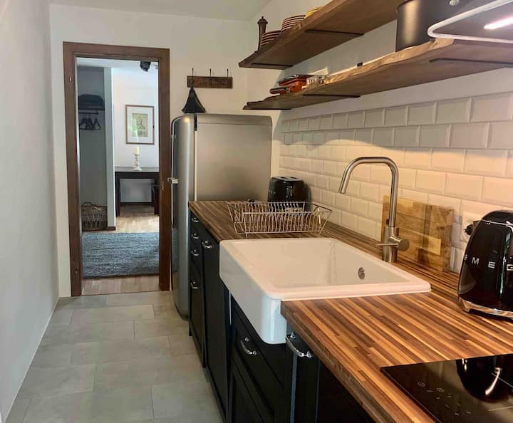Newly renovated funky 1-bedroom apartment
