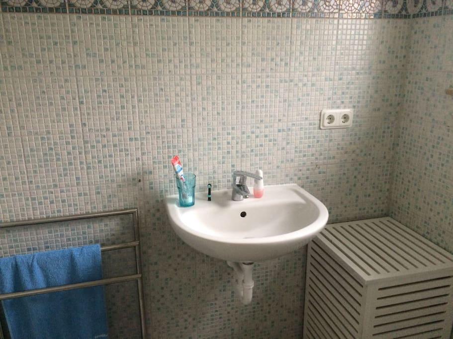 Eigenes Duschbad