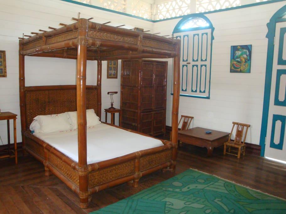 """blue bed room"""