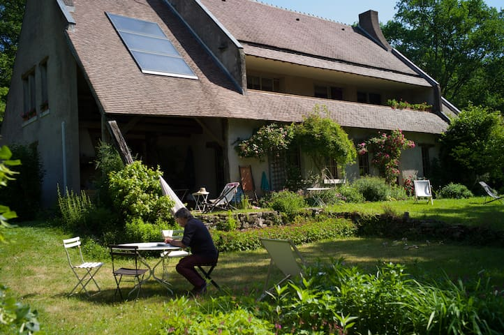 Chambre dans Maison avec grand jardin