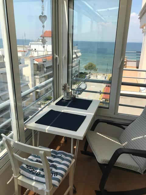 Sea View Beach Apartment # 30 meters from beach