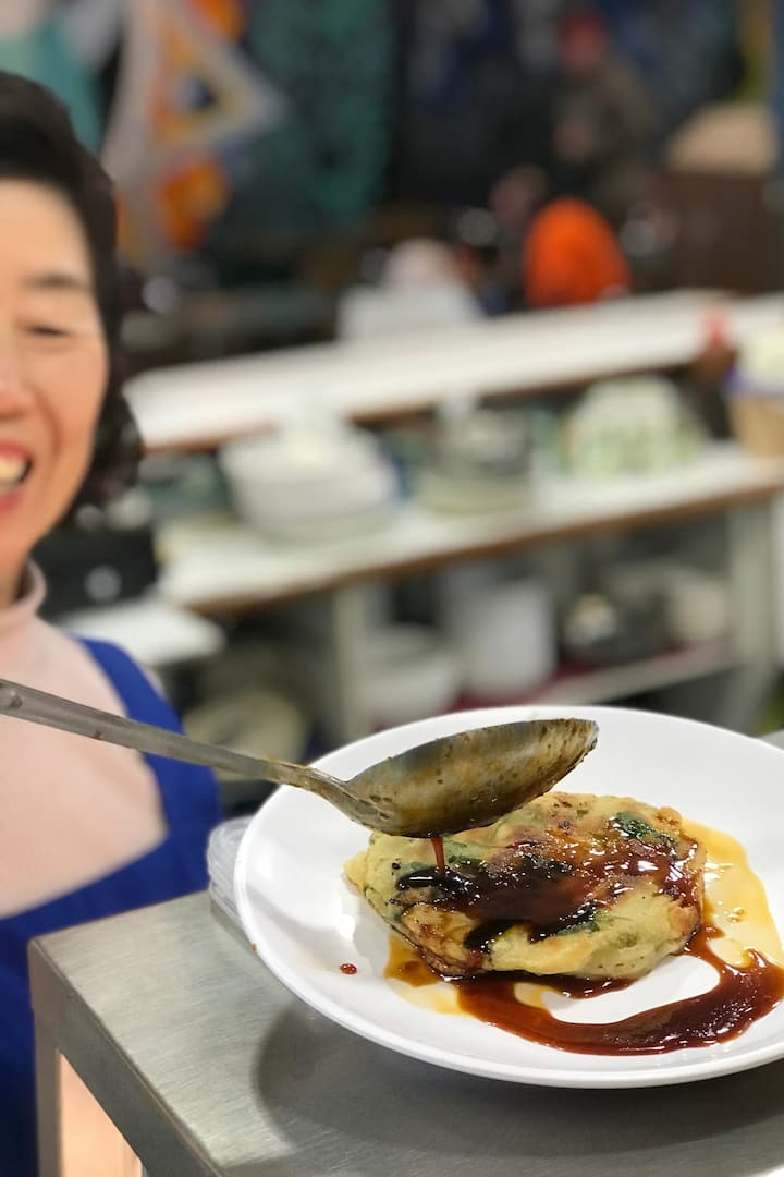 Tried a Korean pancake before?