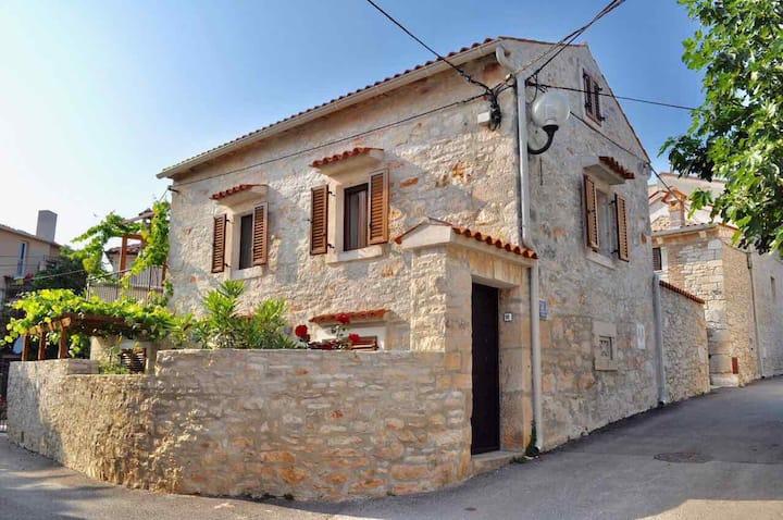Romantic stone house