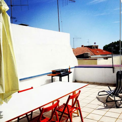 Greekstyle Rooftop Seaview Cagliari