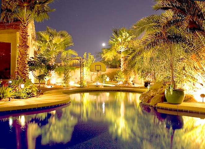 Back yard Oasis w/Salt Water pool!!!