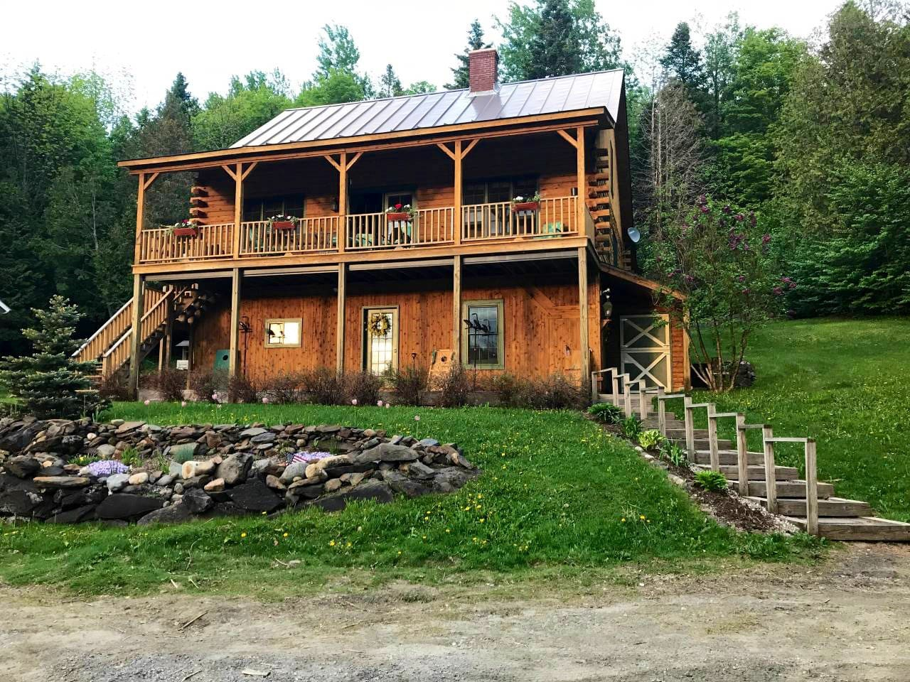 Front of the House sits on 12 acres