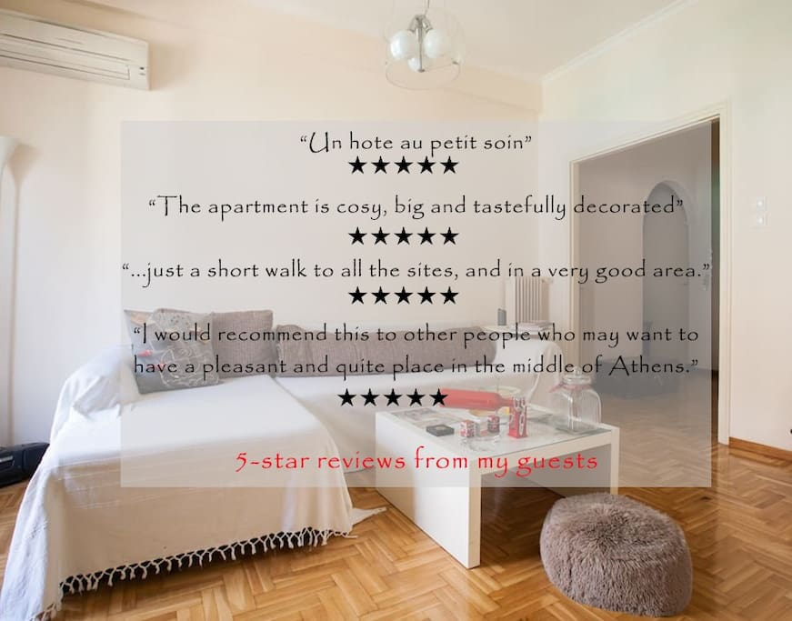 Read my 5-star reviews and contact me!