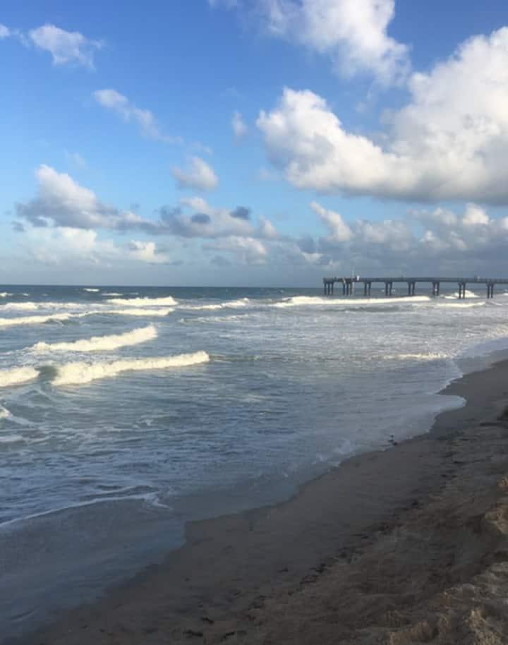 Saint Augustine Beach getaway perfectly located
