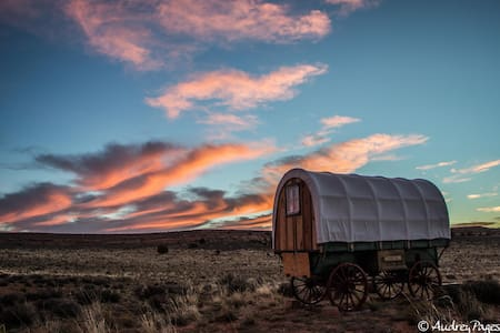 Sheep Wagon2 Glamping on Navajoland - Page