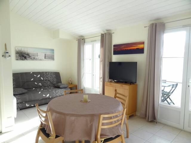 PORCELAINE  Maison  à La Couarde sur Mer