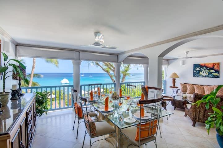 Villas on the Beach 201, Beachfront - 1 Bedroom
