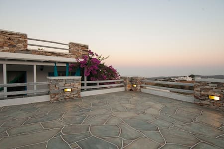 House with kitchen & 2 bedrooms in Sifnos - Artemonas - Haus
