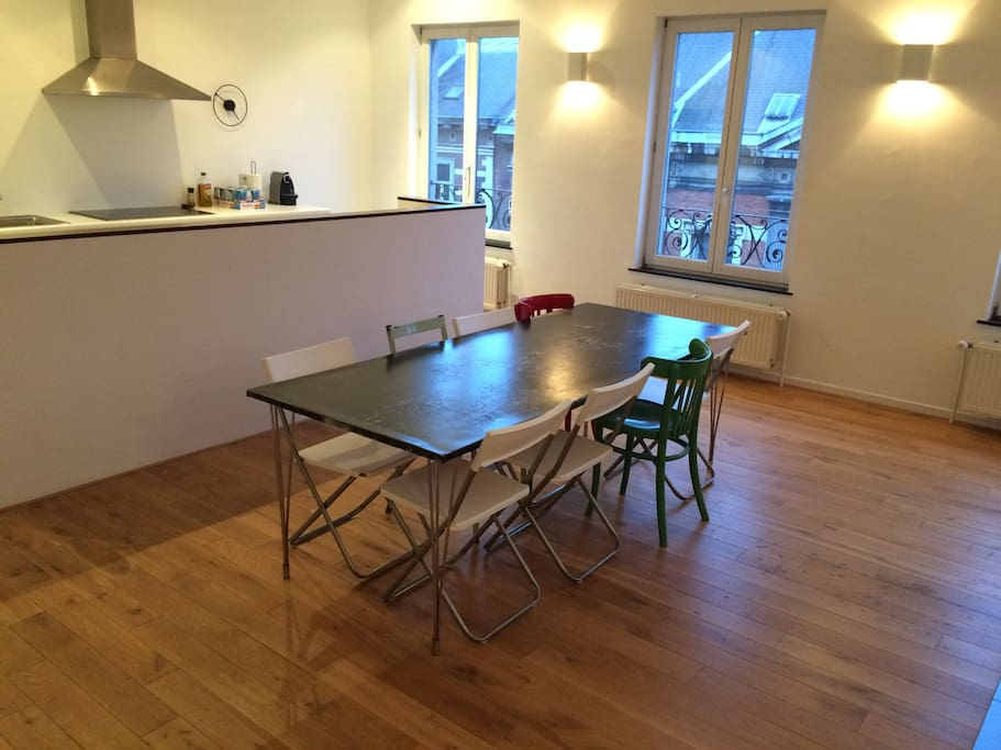 Dining area - table for 10 persons