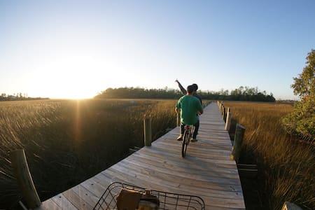 Walk to Shem Creek! & Bike to BEACH - Mount Pleasant - Casa