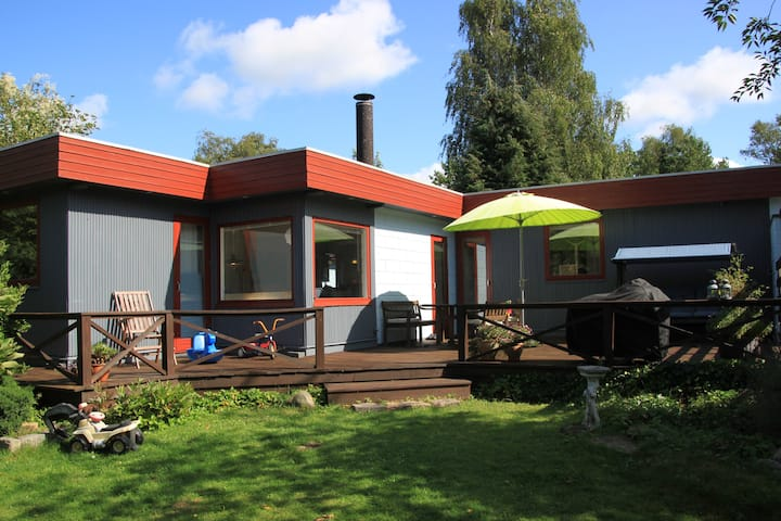 Truly peaceful & family friendly summer house