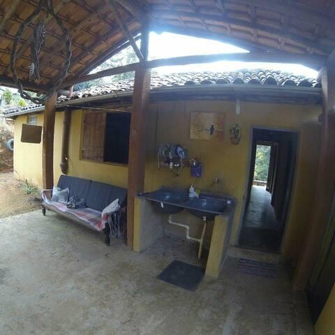 Casa de Campo Hospedaria Tabu ( quarto de casal)