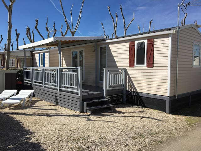 Mobil home 32m² 2 ch. 4/6 personnes Camping SIBLU