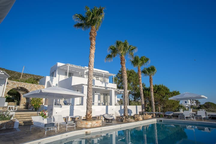 Villa Agia Irini Cove 3 with common pool - Paros - Villa