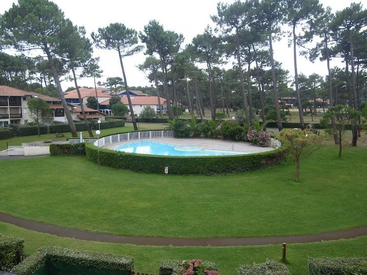 T2 dans résidence avec piscine - Port d'Albret