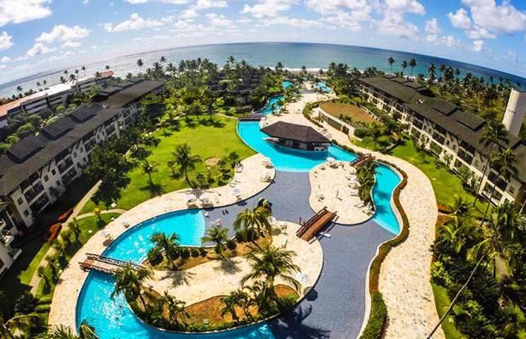 Apartamento no Beach Class Resort Muro Alto