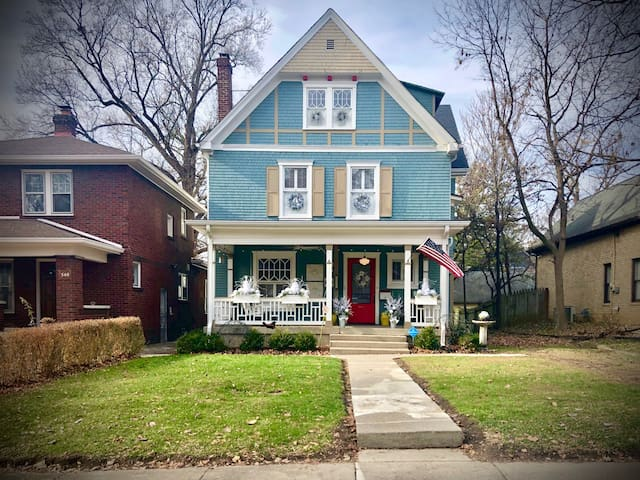 Downtown Indy Historic Home and Neighborhood! Rm#2