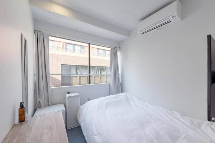 【8 minutes on foot from Kanda station】Single Room・Free Wi-Fi