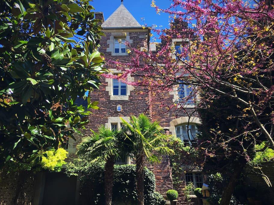 Hotel particulier casteljolly en centre ville Rennes