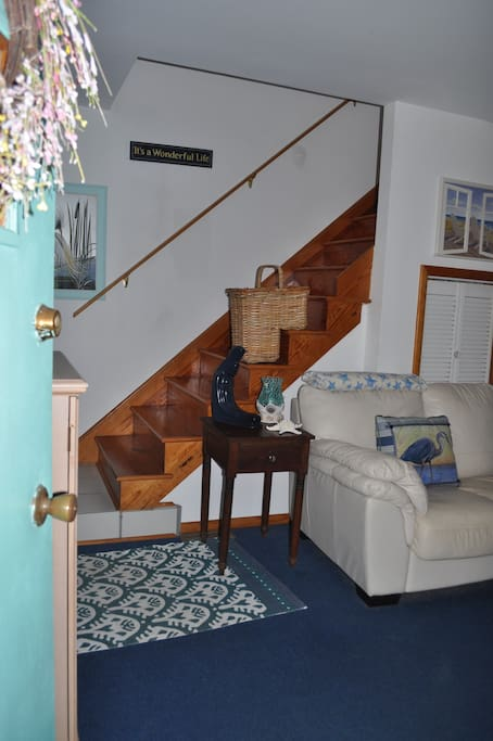 Entrance into Living Area