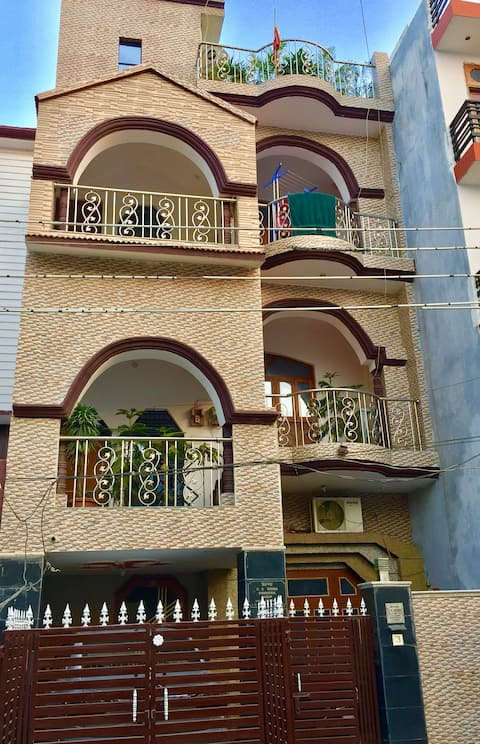 Relaxing, Fully furnished, AC - 2 BHK apartment