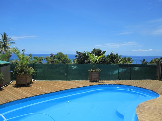 Charmant meublé vue mer