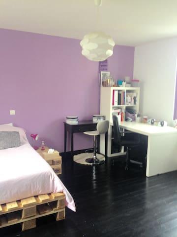 La chambre Airbnb