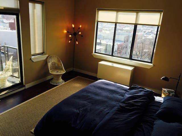 2 beautiful rooms in sunlit Bushwick loft