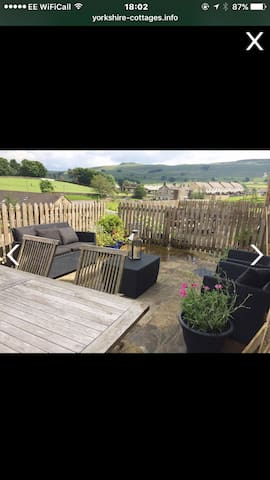 A great house with a beautiful view - Hawes - Casa