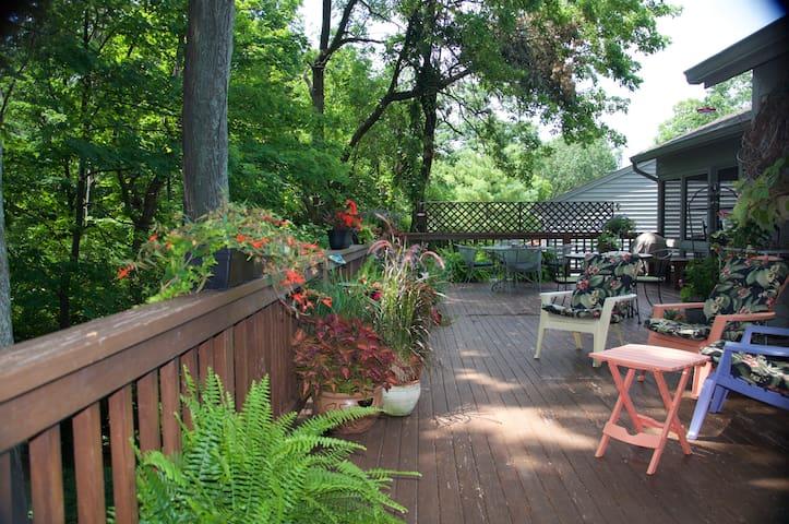 Peaceful Wooded Area Close to Downtown Cincinnati