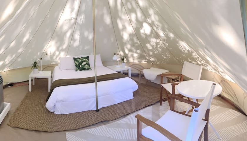 Glamping 30a Topsail Preserve State Park Site T7