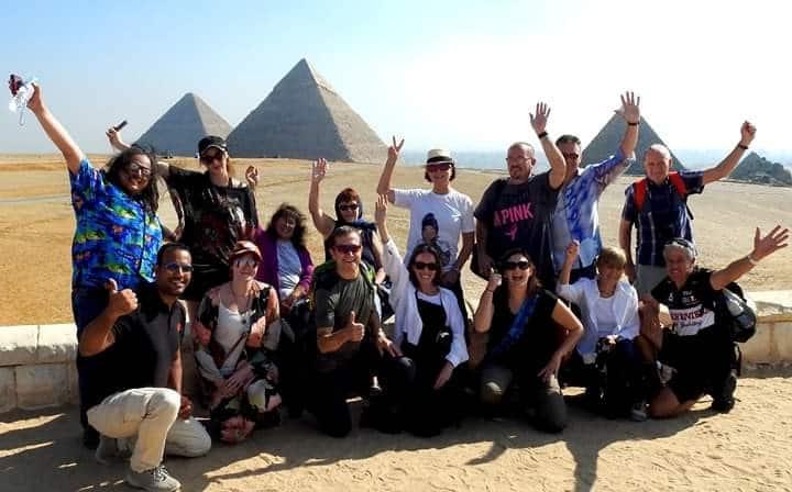 castle of pyramids gardens, tour guide + car