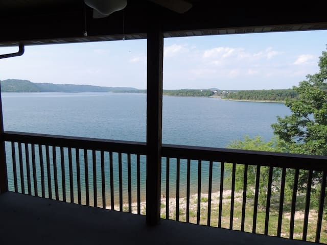 Lake Haven #452 Lakefront sleeps 8 - Kimberling City - Apartament