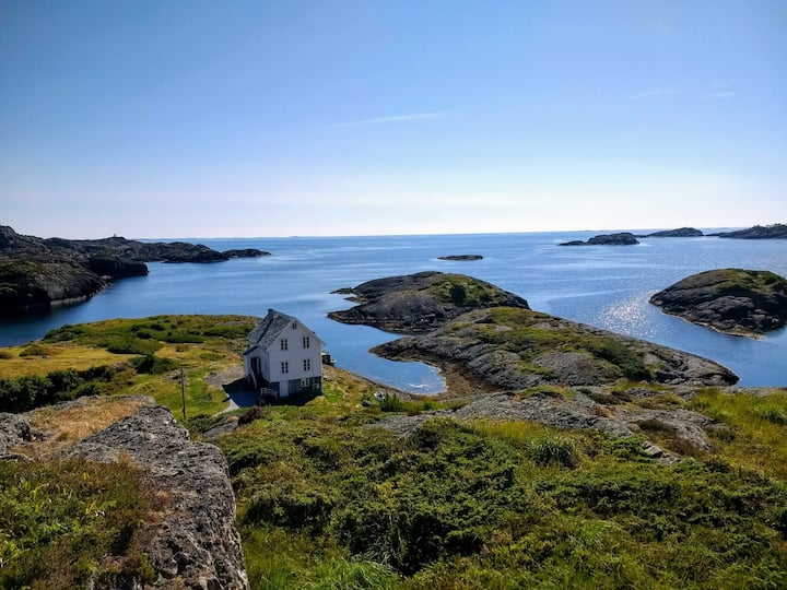 Kverhella, Solund, Sognefjord, Norway.