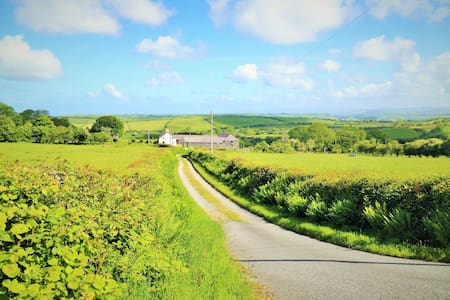 Cottage with views near the Coast - Llangwyryfon - Dům