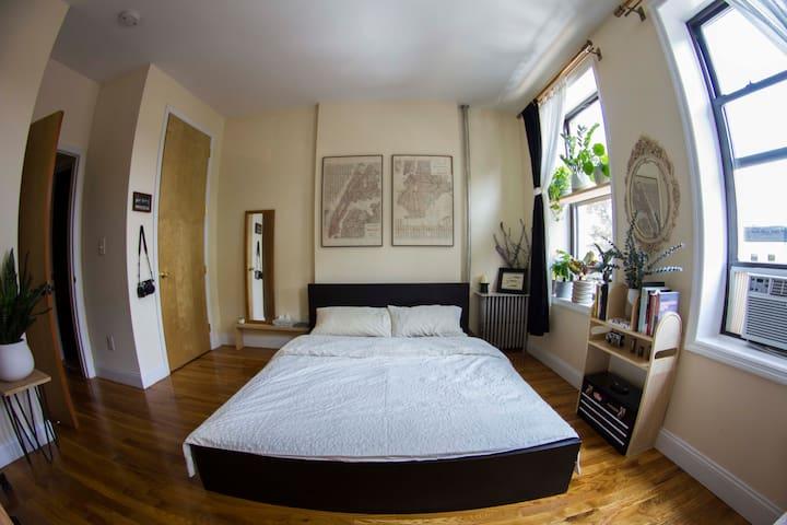 Lovely South Slope Room