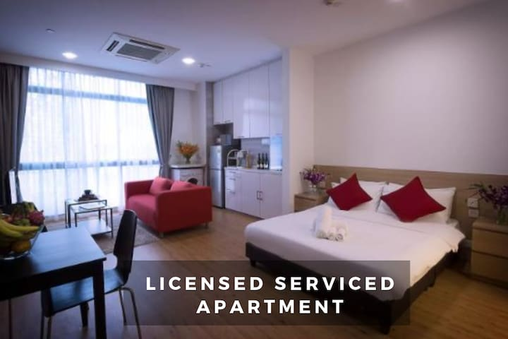 Luxury serviced apartment in Orchard near subway9